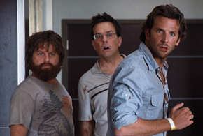 Still shot from the movie: The Hangover.