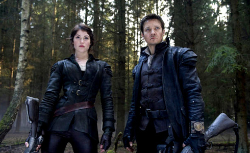 Still shot from the movie: Hansel and Gretel: Witch Hunters.