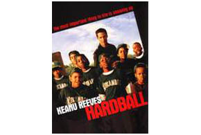 Still shot from the movie: Hardball.