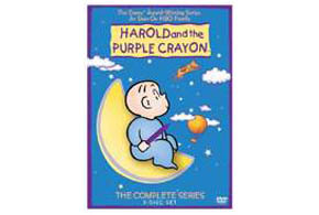 Still shot from the movie: Harold and the Purple Crayon.