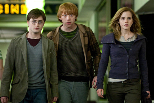 Still shot from the movie: Harry Potter and the Deathly Hallows - Part 1.