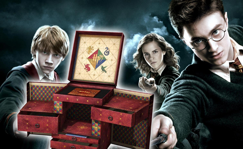 Still shot from the movie: The Harry Potter Wizard Collection.