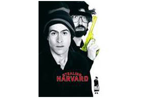 Still shot from the movie: Stealing Harvard.