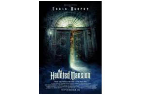 Still shot from the movie: The Haunted Mansion.
