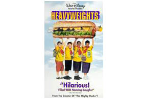 Still shot from the movie: Heavyweights.