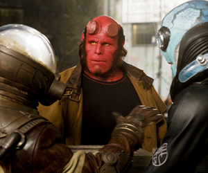 Still shot from the movie: Hellboy 2 The Golden Army.