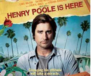 Still shot from the movie: Henry Poole Is Here.