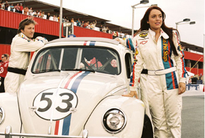Still shot from the movie: Herbie Fully Loaded.