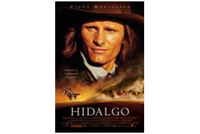 Still shot from the movie: Hidalgo.