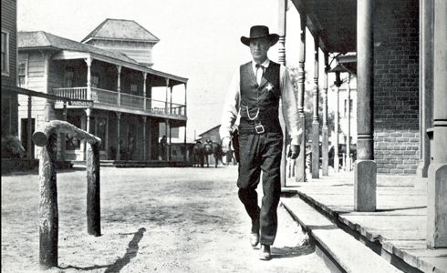 Still shot from the movie: High Noon.