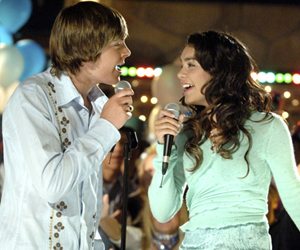 Still shot from the movie: High School Musical.