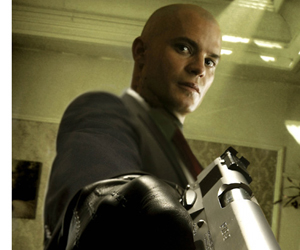 Still shot from the movie: Hitman.