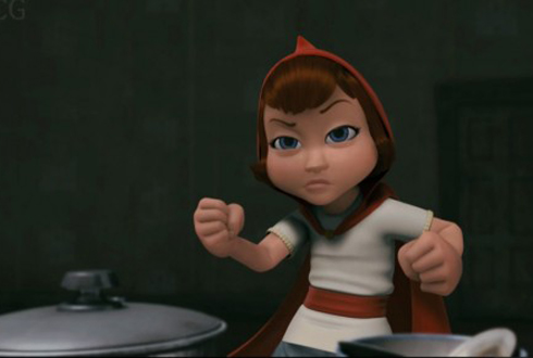 Still shot from the movie: Hoodwinked Too—Hood VS. Evil.