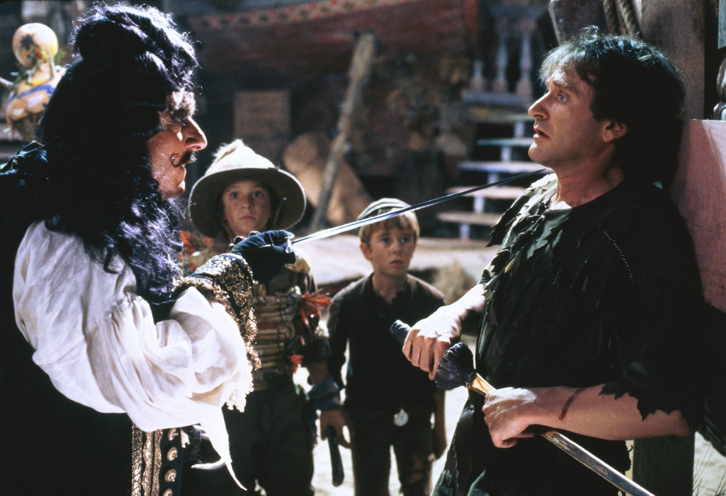 Still shot from the movie: Hook.