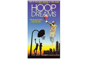 Still shot from the movie: Hoop Dreams.