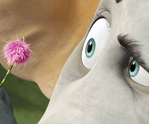 Still shot from the movie: Horton Hears a Who.