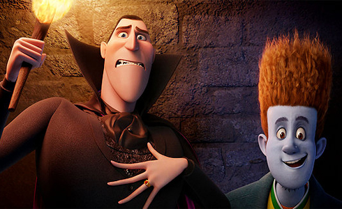 Still shot from the movie: Hotel Transylvania.