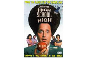 Still shot from the movie: High School High.