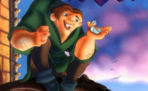 Still shot from the movie: The Hunchback of Notre Dame.