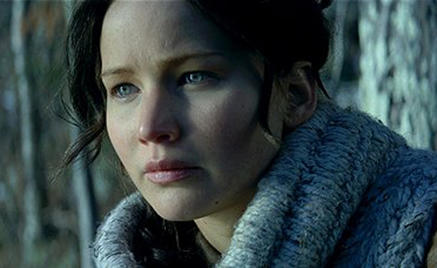 Still shot from the movie: The Hunger Games: Catching Fire.