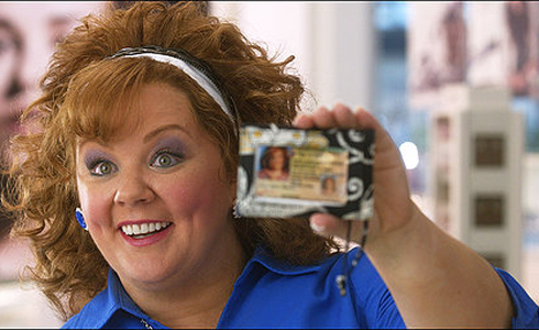 Still shot from the movie: Identity Thief.
