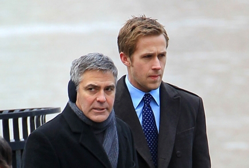 Still shot from the movie: The Ides of March.