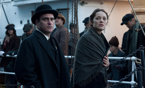 Still shot from the movie: The Immigrant.