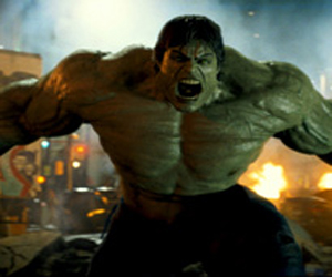 Still shot from the movie: The Incredible Hulk.