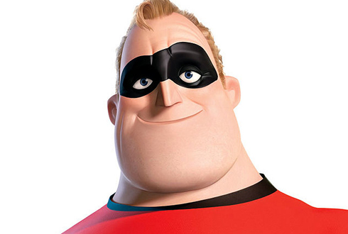 Still shot from the movie: The Incredibles.