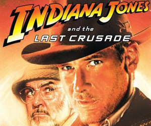 Still shot from the movie: Indiana Jones and the Last Crusade.