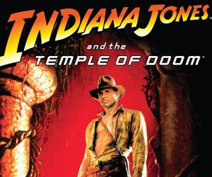 Still shot from the movie: Indiana Jones and the Temple of Doom.