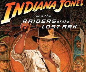 Still shot from the movie: Indiana Jones and the Raiders of the Lost Ark.