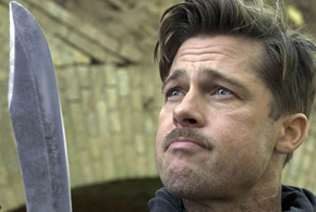 Still shot from the movie: Inglourious Basterds.