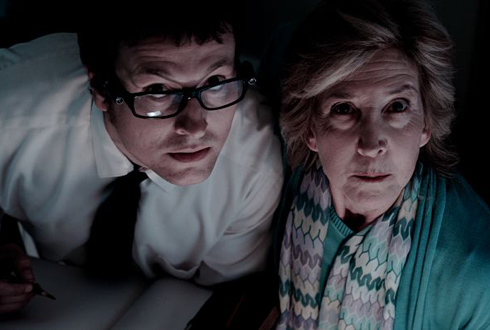 Still shot from the movie: Insidious.