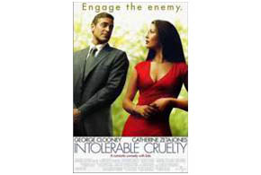 Still shot from the movie: Intolerable Cruelty.