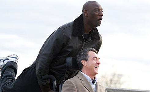 Still shot from the movie: The Intouchables.