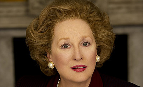 Still shot from the movie: The Iron Lady.