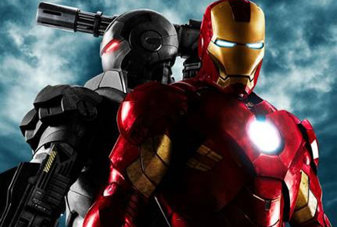 Still shot from the movie: Iron Man 2.