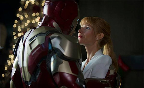 Still shot from the movie: Iron Man 3.