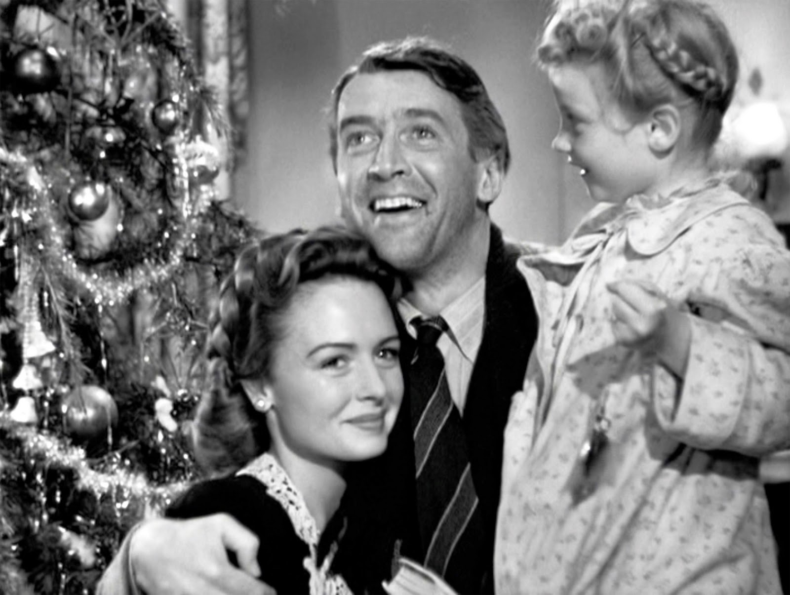 Still shot from the movie: It's A Wonderful Life.