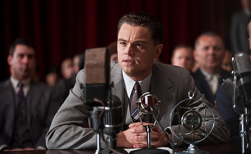 Still shot from the movie: J. Edgar.