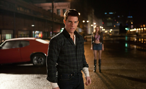 Still shot from the movie: Jack Reacher.