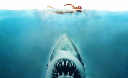 Still shot from the movie: Jaws.