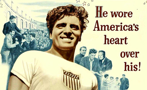 Still shot from the movie: Jim Thorpe: All American.