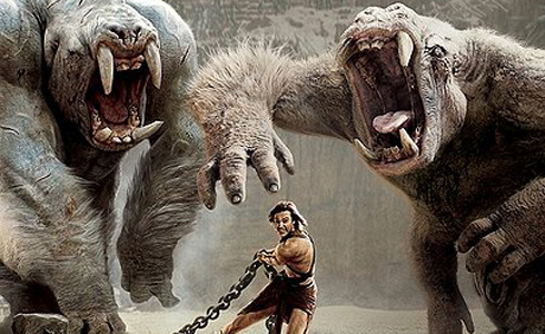 Still shot from the movie: John Carter.