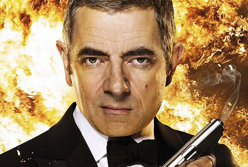 Still shot from the movie: Johnny English Reborn.