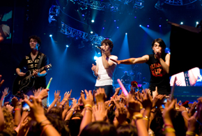 Still shot from the movie: Jonas Brothers 3D Concert Experience.