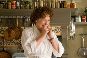 Still shot from the movie: Julie & Julia.