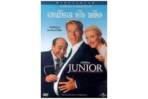 Still shot from the movie: Junior.