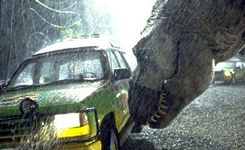 Still shot from the movie: Jurassic Park.